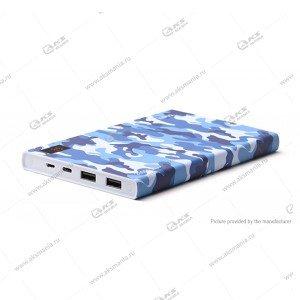 Power Bank HOCO B33A 20000mAh камуфляж синий