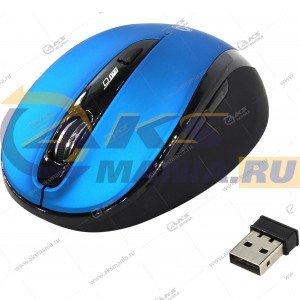 Мышь беспроводная Smartbuy SBM-612AG черн/синий