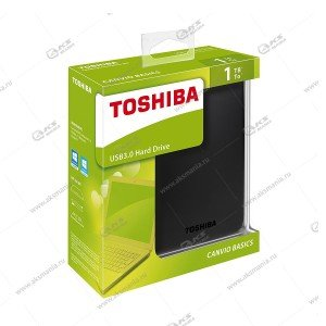 Внешний HDD Toshiba 2,5 1TB Canvio Ready USB3.0 black