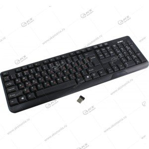 Клавиатура беспроводная Sven KB-C2200W черная