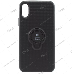 Силикон Huawei Honor 8A/Y6 (2019) iFace черный