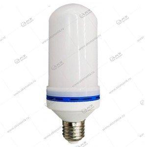 Лампа LED Flame Bulb E27 c эффектом пламени