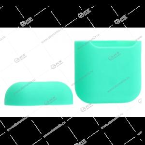 Силиконовый чехол для AirPods Case Protection мятно-зеленый