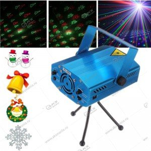 Лазерный проектор JIN-6Q/ 6J/ 6H/6-5/6-18 Новый Год