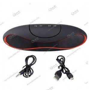 Колонка портативная Alien Speaker BT TF USB черный