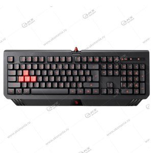 Клавиатура A4Tech Bloody B120 - игровая с подсветкой, USB, черный