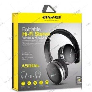 Наушники Bluetooth Awei A500 Накладные черные