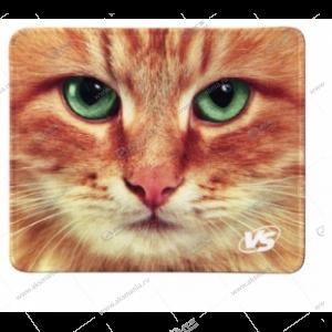 """Коврик для мышки VS """"Cat"""", Рис.3 (180*220*2 мм), ткань+резиновое основание"""