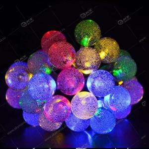 """Гирлянда """"Шарики с пузырьками"""" силиконовый провод 40LED разноцвет."""