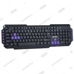 Клавиатура Perfeo ROBOTIC PF-031 черная