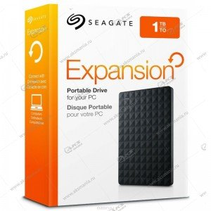 Внешний HDD Seagate 2,5 1TB Original Expansion Portable USB3.0 black