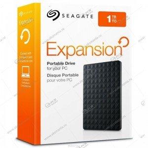 Внешний HDD Seagate 2,5 1TB Original Expansion Portable USB3.0 black