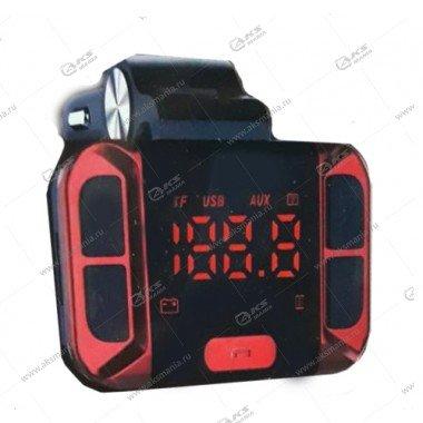 FM Модулятор Bluetooth Broad KCB-916 + АЗУ 5v синий