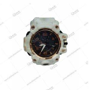Наручные часы KASIO водонепроницаемые в пластике белые