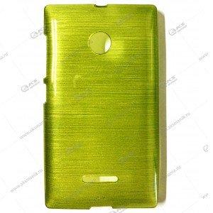 Пластик Samsung S4/i9500 карамель зеленый