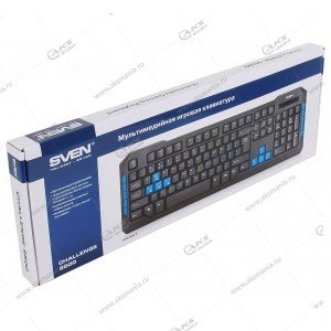 Клавиатура Sven игровая Challenge 9500, USB, черный
