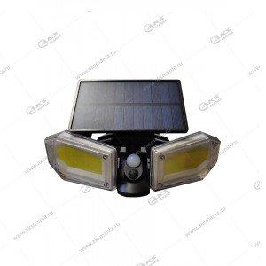 Автономный уличный светодиодный светильник GY-1416/SH078B с датчиком движения