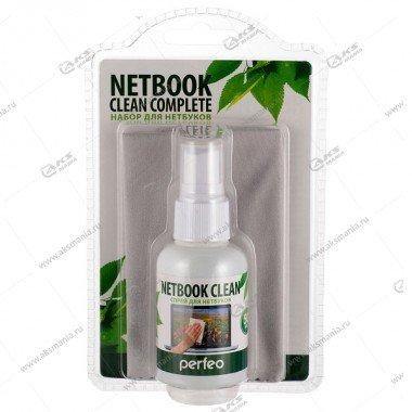 """Набор Perfeo """"Netbook Clean"""" спрей с микрофиброй 50мл."""