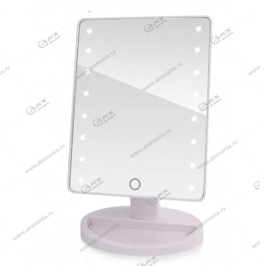 Зеркало для макияжа настольное с LED подсветкой 805