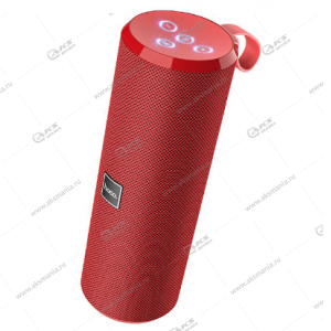 Колонка портативная Hoco BS33 Voice sports wireless speaker красный