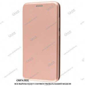 Книга горизонтал Huawei Honor 10 lite/ P Smart 2019  розовое золото Nitro