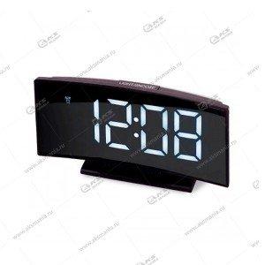 Часы настольные DS-3621 черно/белый