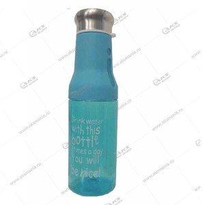 Бутылка для воды Sports 222 голубой