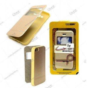 Книга BOOSTAR Asus ZenFone ZOOM/ ZX551ML золотой