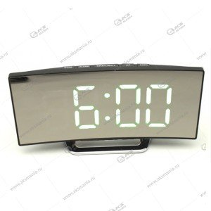 Часы настольные DS-6507 черно/белые