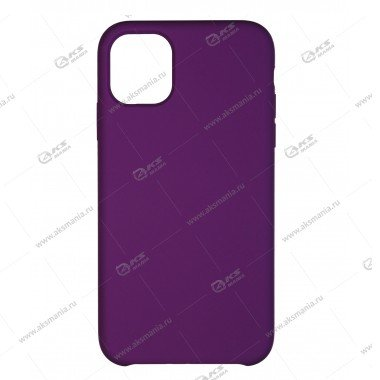 Silicone Case (Soft Touch) для iPhone 11 Pro Max фиолетовый