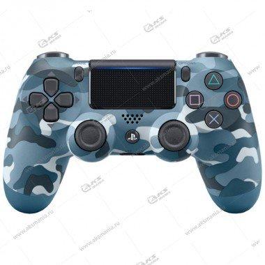 Gamepad PS4 Dualshock 4 wireless камуфляж синий