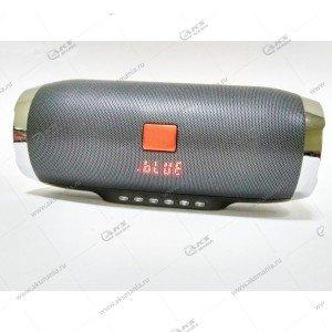 Колонка портативная Charge 4+ BT FM TF серый