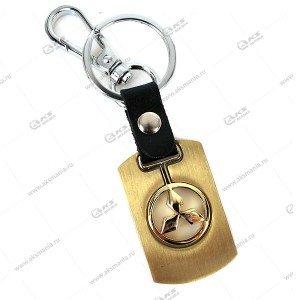 "Брелок для ключей металлический ""Mitsubishi"""