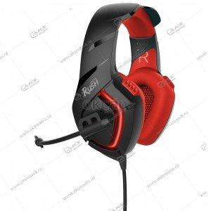 Наушники Smartbuy SBHG-8500 Skythe , кабель 2,2м., динамики 50мм черн/красная.