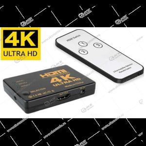 Переходник Switch-HDMI 4K/ULTRA HD с пультом