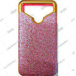 Силикон универсальный с пластиком 4,5-4,7 блестки розовый