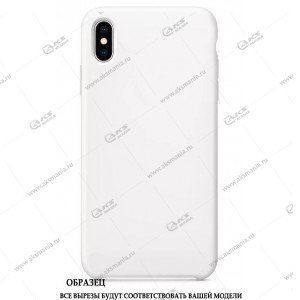 Silicone Case для iPhone 11 Pro Max белый