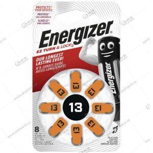 Элемент питания Energizer ZA13/8BL PR48 (для слуховых аппаратов)