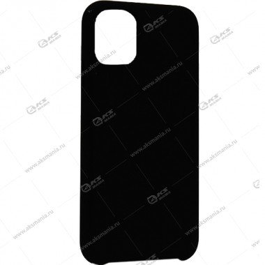 Silicone Case (Soft Touch) для iPhone 11 Pro Max черный