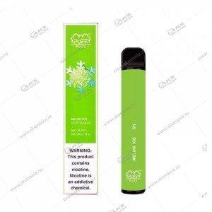 Электронная одноразовая сигарета Puff Plus 2% 800 затяжек Ледянная дыня