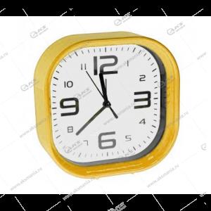 Часы 1001 будильник желтый