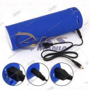 Колонка портативная  C-78B BT FM TF USB  голубой