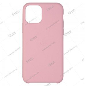 Silicone Case (Soft Touch) для iPhone X/XS розовый