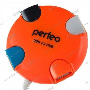Hub Perfeo PF-VI-H020 оранжевый