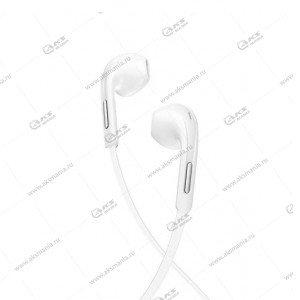 Наушники Borofone BM55 Sonido universal с микрофоном белые