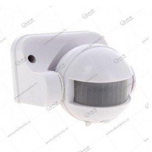 Датчик движения Smartbuy инфракрасный настенный 1200Вт, 180гр., до 12м, IP44 (SBL-MS-009)