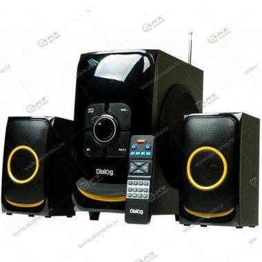 Акустические колонки AP-208 30W+2*15W, 2.1, Bluetooth, FM, USB+SD reader