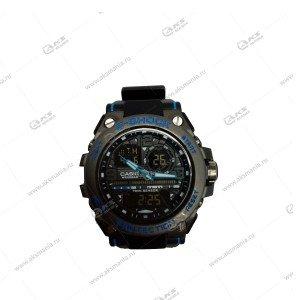 Наручные часы C-Shock в коробке черные с синим