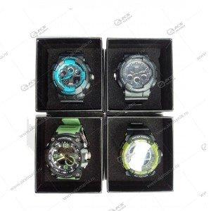 Наручные часы WD водонепроницаемые в коробке ассорти