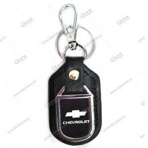 "Брелок для ключей металлический+кожа ""Chevrolet"""